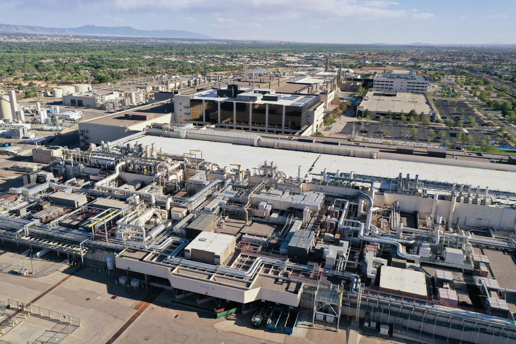 Intel's New Mexico fab develops and manufactures technologies for packaging, memory, and connectivity, including silicon photonics.