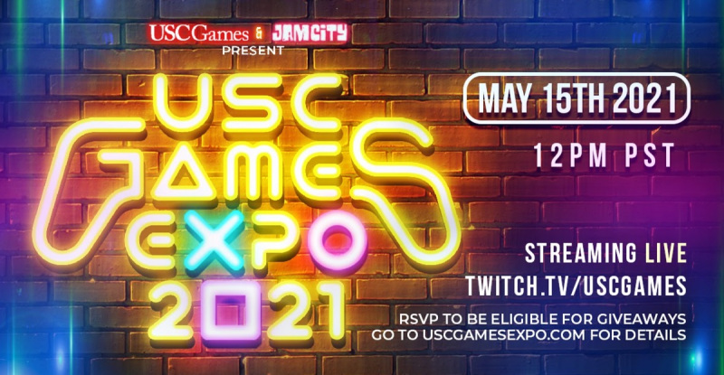 USC Games Expo 2021 takes place on May 15.